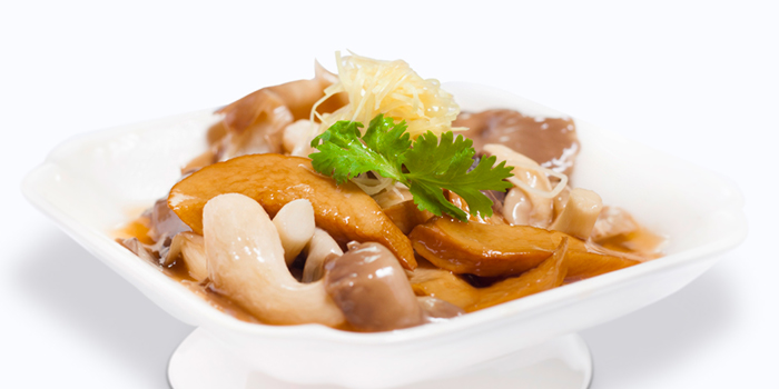 Braised Mushroom in Chinese Wine from Dian Xiao Er (VivoCity) in Harbourfront, Singapore