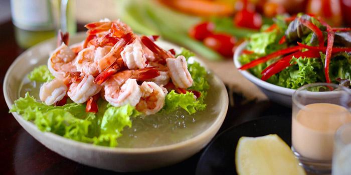 Food from Cocoon Beach Club, Seminyak, Bali