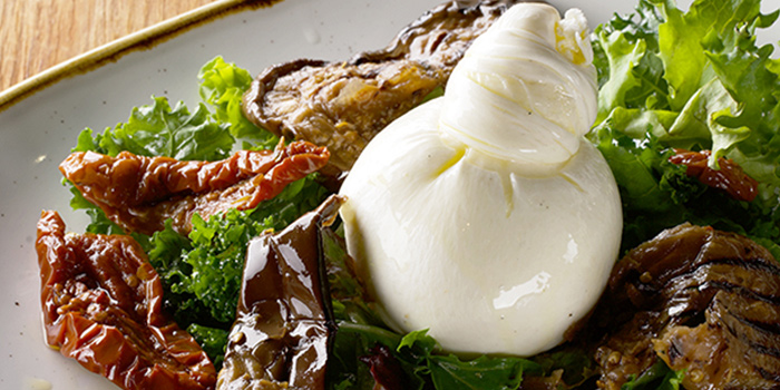 Burrata Melazane from The Mast