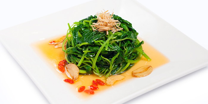 Chinese Spinach in Superior Stock from Dian Xiao Er (VivoCity) in Harbourfront, Singapore