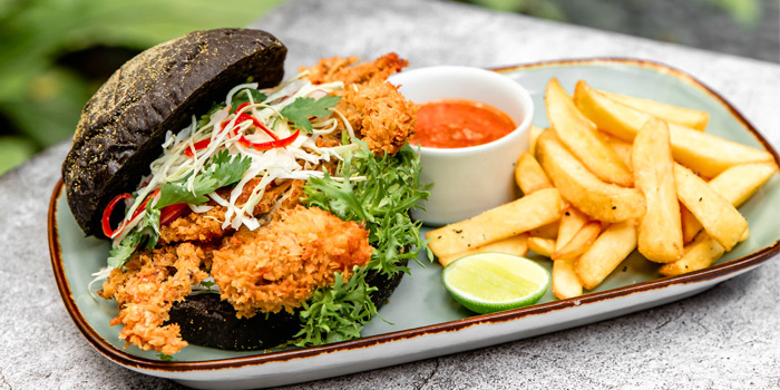 Food from Opeum Bistro, Seminyak, Bali