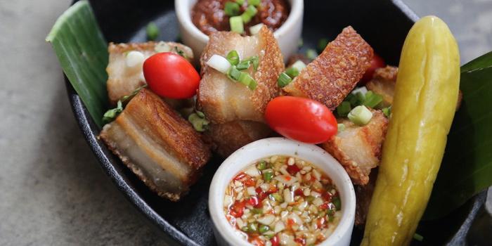 Crispy Pork from Ginger Farm Eatery & Bar at 39 Boulervard Executive Residence Sukhumvit 39 Klong Tan Nuea, Watthana Bangkok