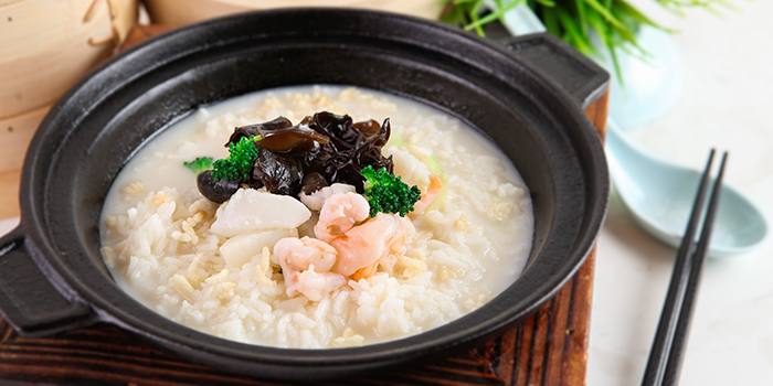 Crispy Rice in Superior Soup - Seafood from The Dim Sum Place in Bugis, Singapore