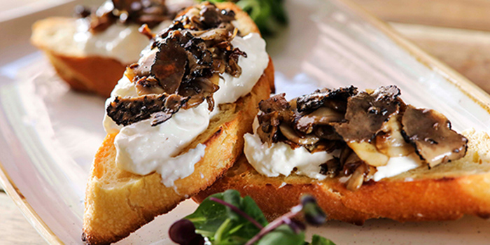 Crostini E Funghi from The Mast