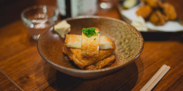 Deep Fried Chessy Fish Cake, Umimachidon, Kowloon Bay, Hong Kong