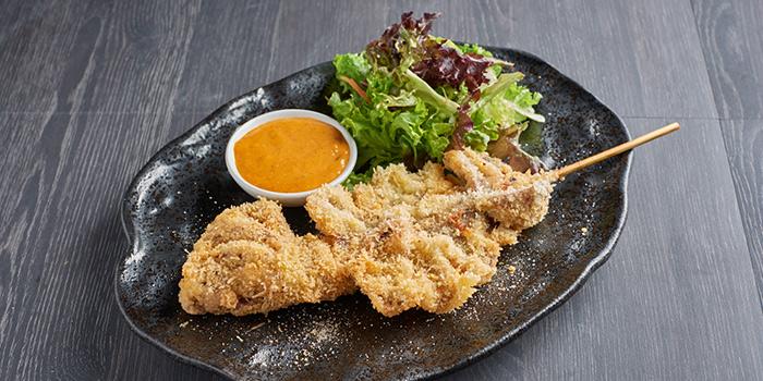 Deep Fried Whole Squid from Bangkok Jam (Marina Square) in Promenade, Singapore