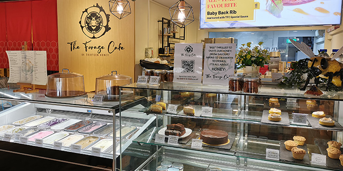Dessert Counter of The Forage Cafe in Bedok, Singapore