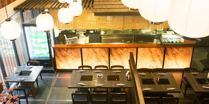 Dining Area of Suki Masa Thonglor at 111/1 Thong Lo 5 Alley Khlong Tan Nuea, Watthana Bangkok