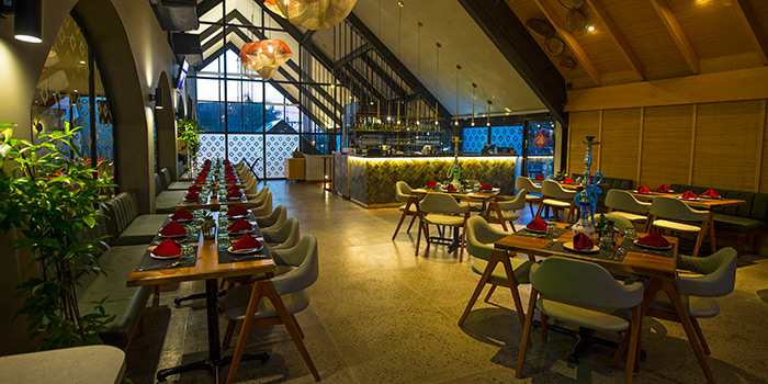 Interior from Spice Mantraa, Seminyak, Bali