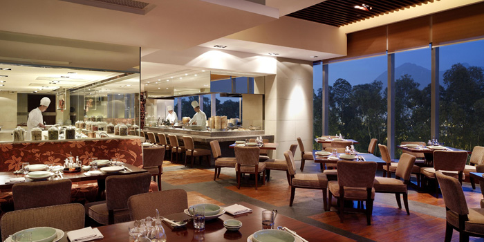 Dining Area, Hyatt Regency Hong Kong Sha Tin, Sha Tin, Hong Kong