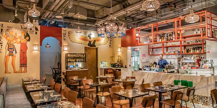 Dining Area, AZIZA (Sai Ying Pun), Sai Ying Pun, Hong Kong