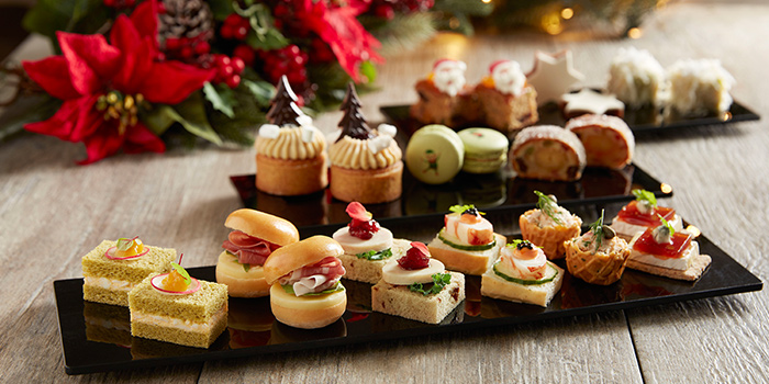 Festive Afternoon Tea (4 Nov to 30 Dec) from The Courtyard at The Fullerton Hotel Singapore in Raffles Place, Singapore