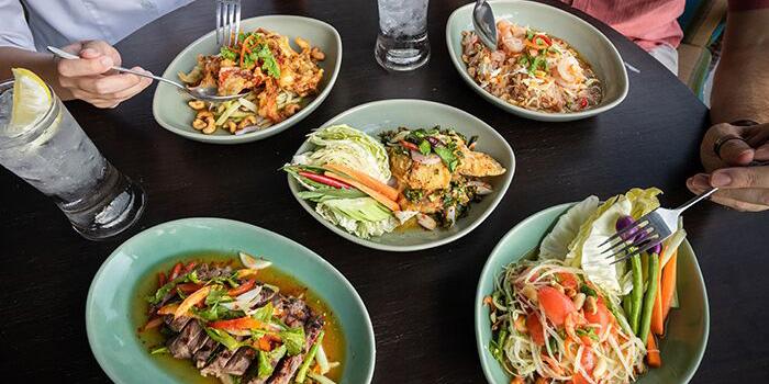 Food from The Pool Bar in Kamala, Phuket, Thailand