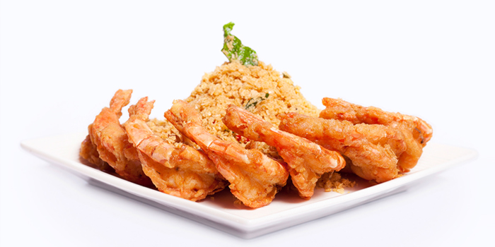 Fragrant Nestum Prawn from Dian Xiao Er (JEM) in Jurong, Singapore
