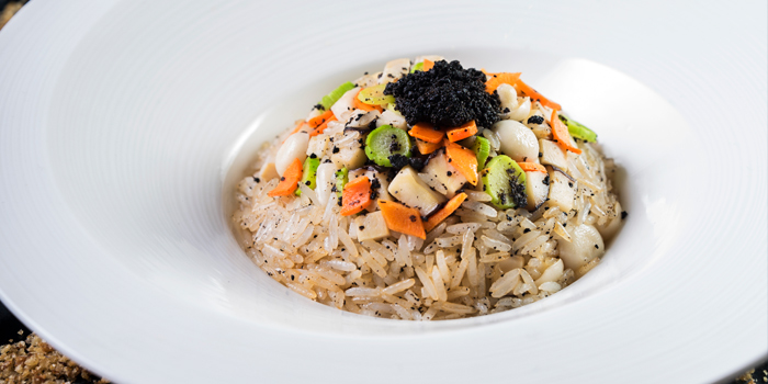 Fried Rice with Scallop and Truffle, Sing Yin Cantonese Dining, Kowloon Station, Hong Kong