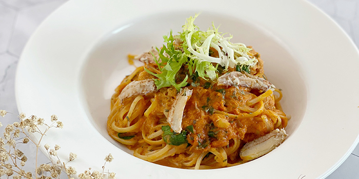 Granchio Pasta from The Forage Cafe in Bedok, Singapore