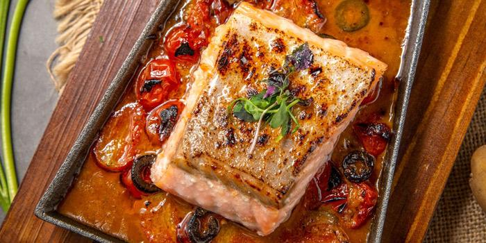 Greek Style Salmon, hEat, Wan Chai, Hong Kong