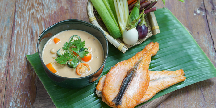 Grilled Dishes from Ginger Farm Eatery & Bar at 39 Boulervard Executive Residence Sukhumvit 39 Klong Tan Nuea, Watthana Bangkok