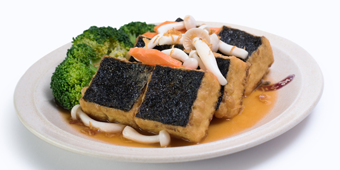 Homemade Tofu w Sweet Gourd & Crabmeat from Dian Xiao Er (JEM) in Jurong, Singapore