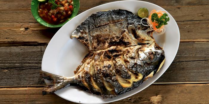 Ikan Bawal Jepang Saus Salsa at Bandar Djakarta, Bekasi