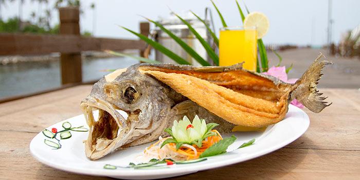 Ikan Pecah Kulit Goreng Kering