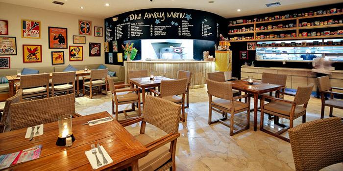 Interior from Cafe Sardinia, Kuta, Bali