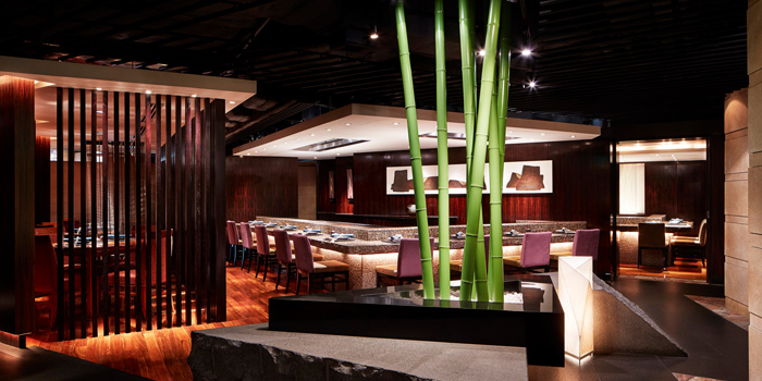 Interior, Unkai Japanese Restaurant, Tsim Sha Tsui, Hong Kong