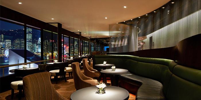 Interior, Sky Lounge, Tsim Sha Tsui, Hong Kong