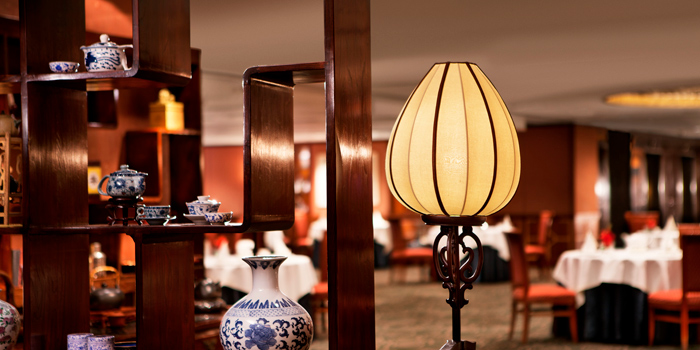 Interior, Celestial Court Chinese Restaurant, Tsim Sha Tsui, Hong Kong