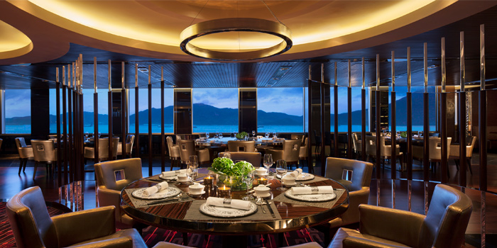 Interior, Man Ho Chinese Restaurant, Chek Lap Kok, Hong Kong