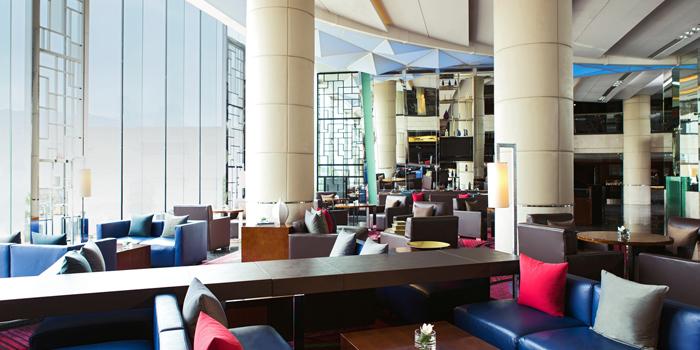 Interior, The Lounge, Chek Lap Kok, Hong Kong