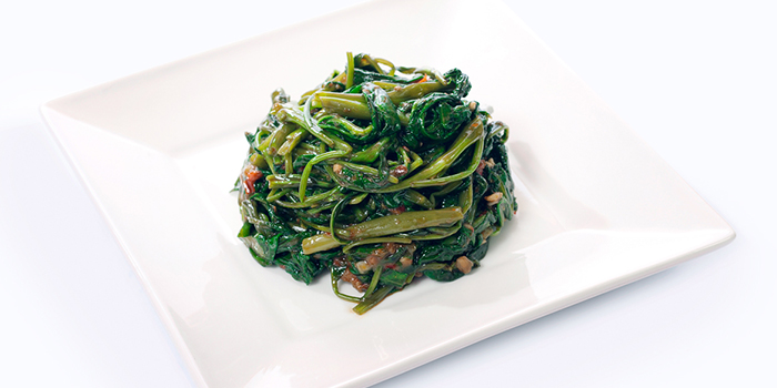 Kangkong with Belacan from Dian Xiao Er (Jewel) in Changi, Singapore