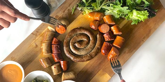 Sausage Platter (KETOman Platter) from BTM Mussels & Bar in Duxton, Singapore