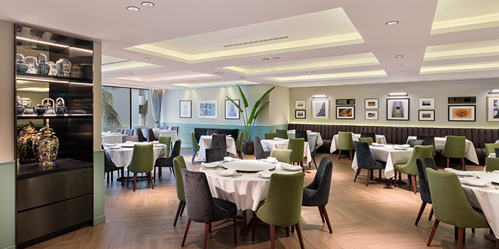 Main Dining Area of Thanying Restaurant at Amara Singapore in Tanjong Pagar, Singapore