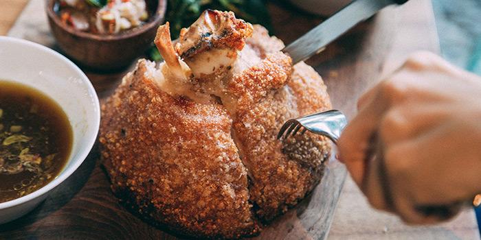Food from Makan Place, Legian, Bali