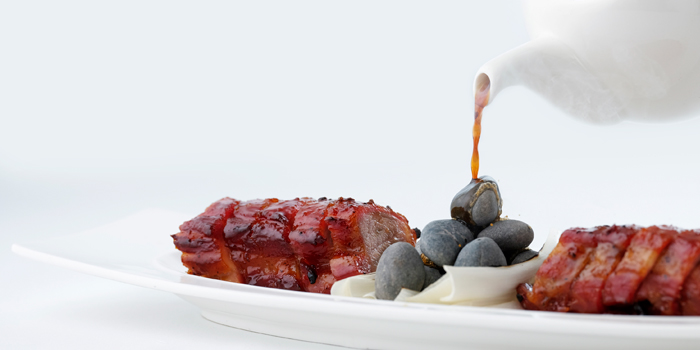 Man Ho Barbecued Pork Loin with Glazed Honey, Man Ho Chinese Restaurant, Chek Lap Kok, Hong Kong