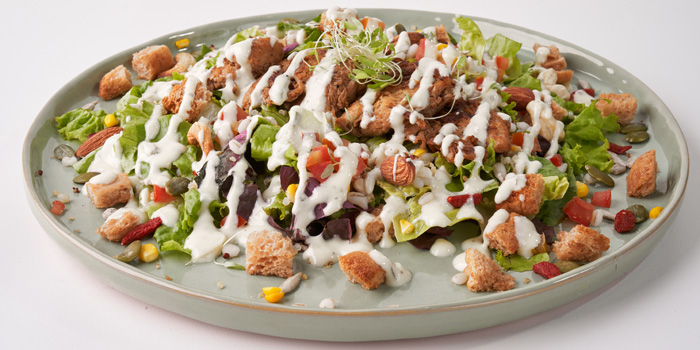 Max Chick n Caesar Salad at Burgreens, Menteng