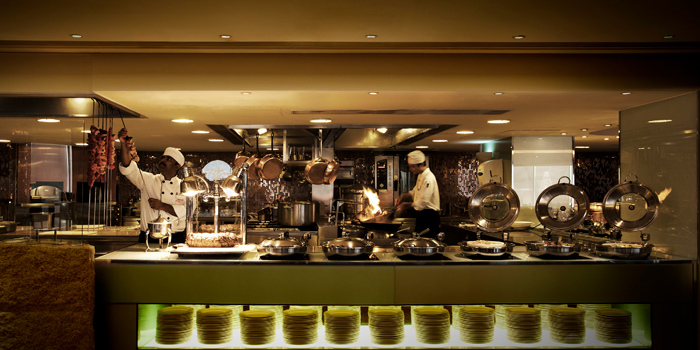 Open Kitchen, SkyCity Bistro, Chek Lap Kok, Hong Kong