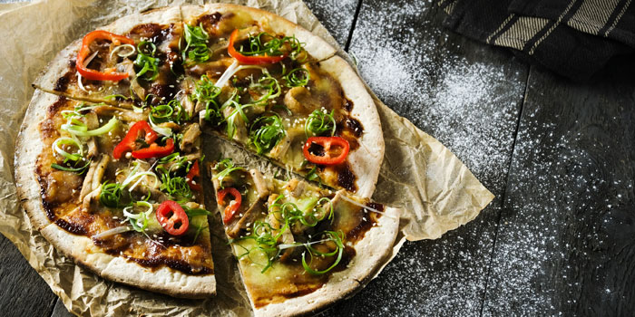 Oriental Pizza, Velocity Bar & Grill, Chek Lap Kok, Hong Kong