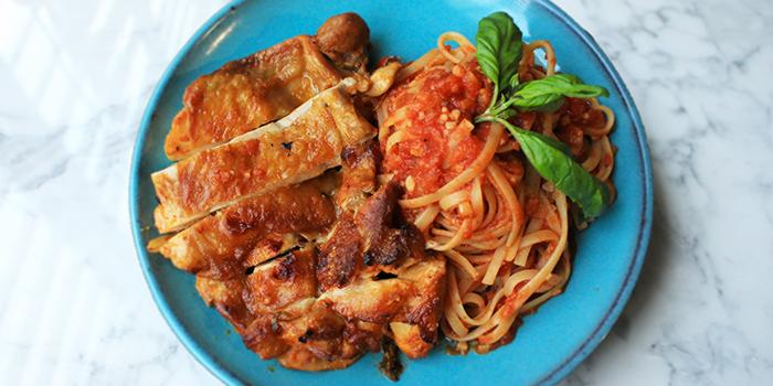Paparika Chicken Tomato Pasta from Good Bites at Bishan Sports Hall in Bishan, Singapore