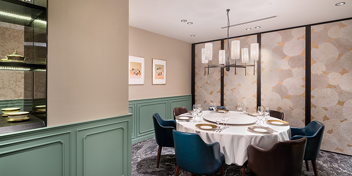 Private Dining Room of Thanying Restaurant at Amara Singapore in Tanjong Pagar, Singapore