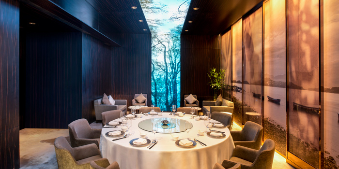 Private Dining Room, Sing Yin Cantonese Dining, Kowloon Station, Hong Kong
