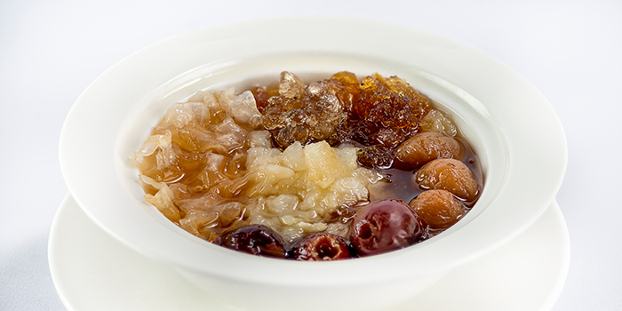 Double Boiled Hashima with Chinese Dates from 566 Seafood & Beer Garden At Mandai Hill in Woodlands, Singapore