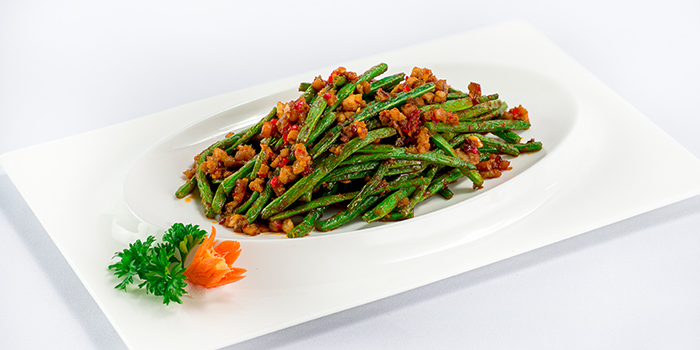 Woke Fried Green Beans from 566 Seafood & Beer Garden At Mandai Hill in Woodlands, Singapore