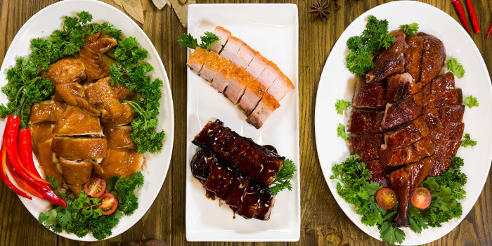 3 Plates from Char in Jalan Besar, Singapore