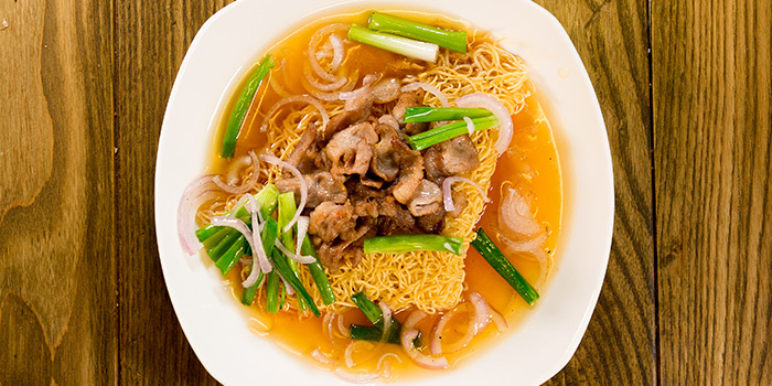 Kurobuta Pork Noodles from Char in Jalan Besar, Singapore