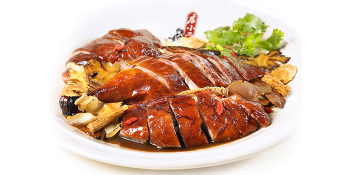 Duck with Chopstick from Dian Xiao Er (Jewel) in Changi, Singapore
