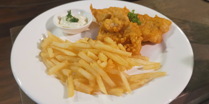 Fish & Chips from Foresta Restaurant & Bar in Dempsey, Singapore