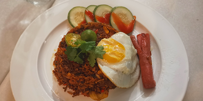 Nasi Goreng from Foresta Restaurant & Bar in Dempsey, Singapore
