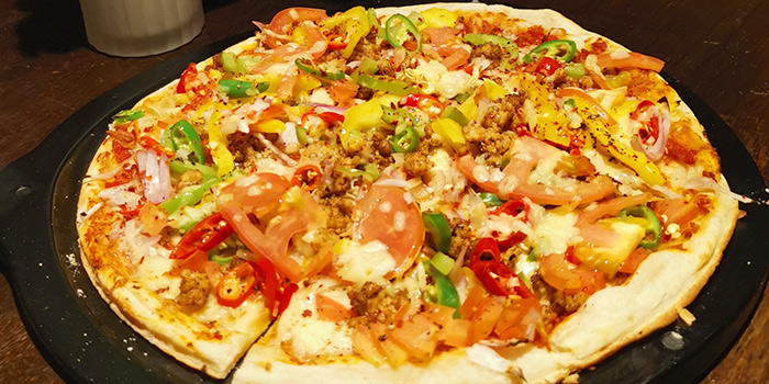 Pizza from Foresta Restaurant & Bar in Dempsey, Singapore